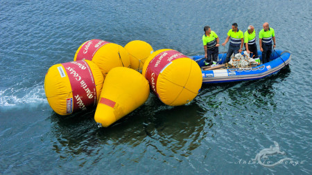 España, Vigo, balloon, baloon, barco, boat, globo, lancha, person, persona