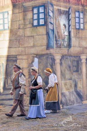 Galicia, Pontevedra, disfraz, disguise, fair, feria, fiesta, persona, popular, medieval
