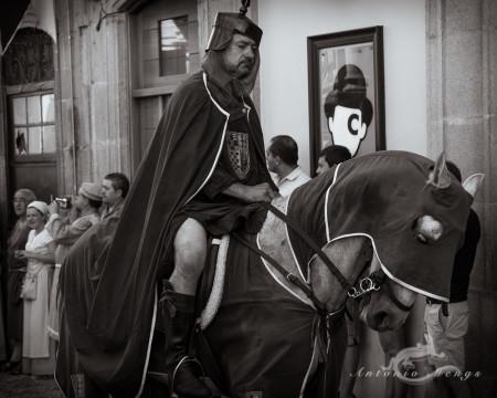 Galicia, Pontevedra, caballo, calle, fair, feria, gente, horse, people, persona, street