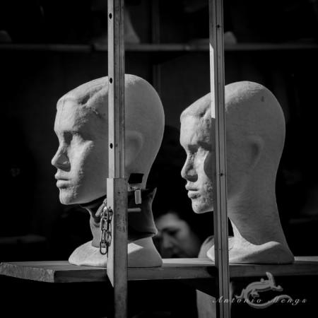 dummy, maniquí, mannikin, mankin, mannequin, mujer, woman, cadena, chain