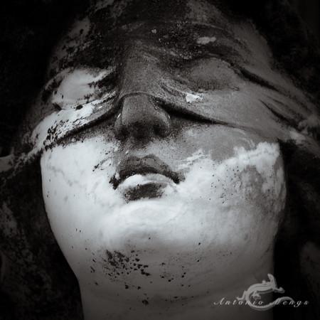 Alcoy, blindfold, cabeza, cementerio, cemetery, escultura, faith, feet, head, sculpture, venda