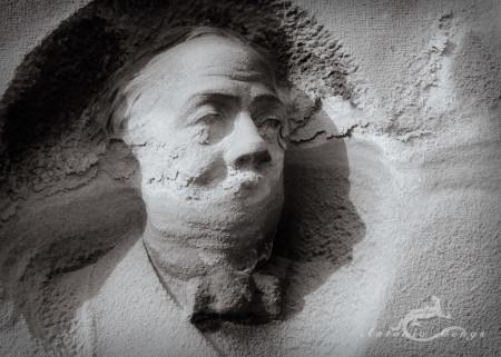 Cementerio, Madrid, cabeza, escultura, funeral, funeraria, head, hombre, mano, sculpture