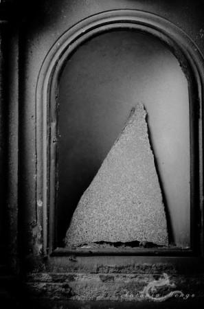Madrid, abstract, abstracto, arc, arco, cementerio, cemetery, hornacina, niche, triangle, triángulo