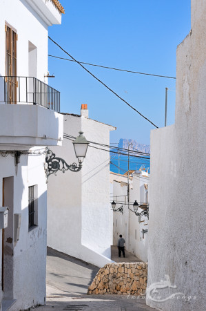 Alacant, Alicante, Altea, architecture, arquitectura, hombre, man, mar, mediterranean, mediterraneo, popular, pueblo, sea, village