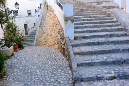Alacant, Alicante, Altea, architecture, arquitectura, calle, escalera, mediterranean, mediterraneo, popular, pueblo, stair, street, village