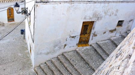 Alacant, Alicante, Altea, architecture, arquitectura, calle, door, escalera, farol, mediterranean, mediterraneo, popular, postlamp, pueblo, puerta, stair, street, village