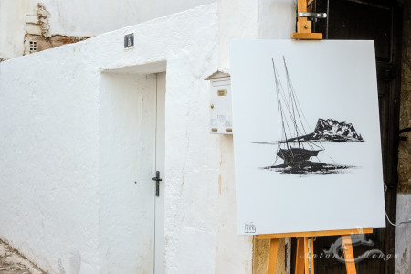 Alacant, Alicante, Altea, architecture, arquitectura, cuadro, door, mediterranean, mediterraneo, muro, painting, popular, pueblo, puerta, puntura, village, wall