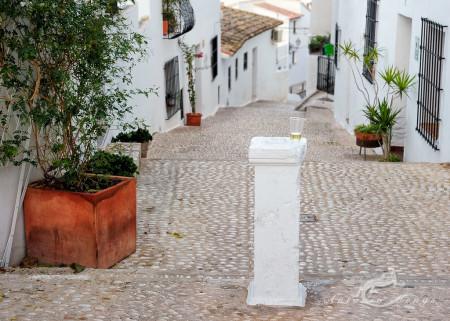 Alacant, Alicante, Altea, architecture, arquitectura, bebida, calle, drink, glass, mediterranean, mediterraneo, popular, pueblo, street, vaso, village