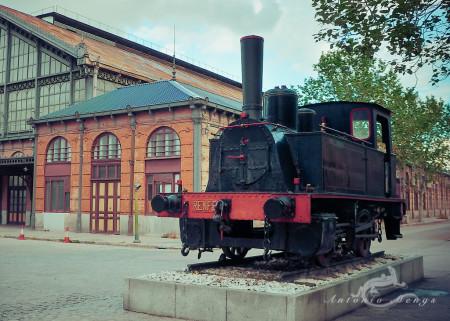 Delicias, Madrid, engine, estación, ferrocarril, máquina, railway, station, steam, train, tren, vapor