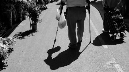Alacant, Alicante, Calpe, España, Spain, anciano, calle, cruth, elder, hombre, man, market, mercado, streetmuleta