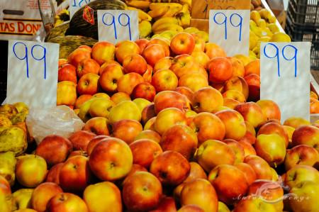 Alacant, Alicante, Calpe, España, Spain, apple, fruit, fruta, manzana, market, mercado
