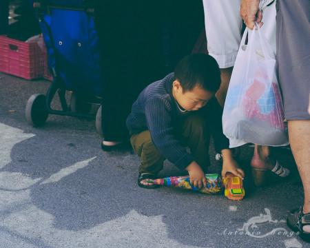 Alacant, Alicante, Calpe, España, Spain, calle, child, gente, market, mercado, niño, people, street