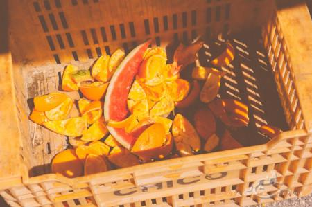 Alacant, Alicante, Calpe, España, Spain, market, mercado, naranja, orange, sand´ia, waste, watermelon